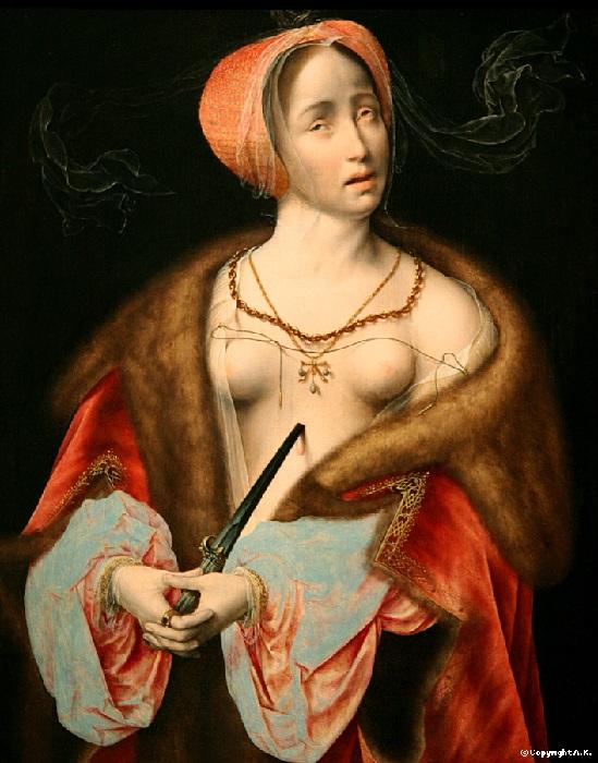 Лукреция. (1626 год). Автор: Гвидо Рени.