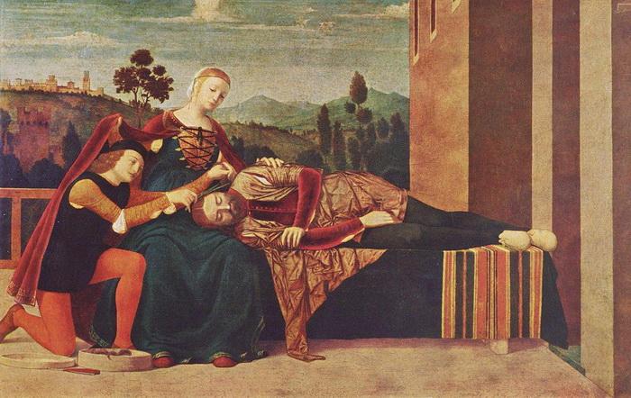 Ф. Мороне. Самсон и Далила